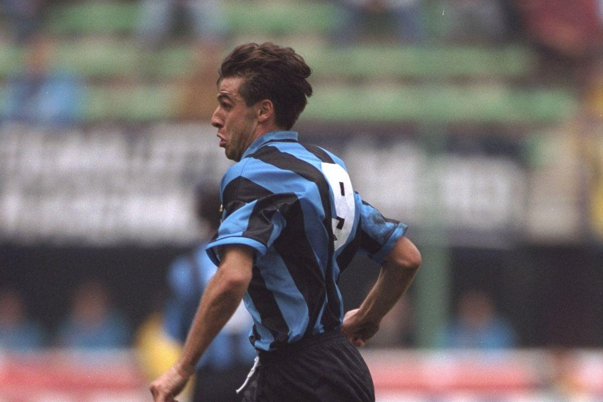 Nicola Berti of Inter Milan
