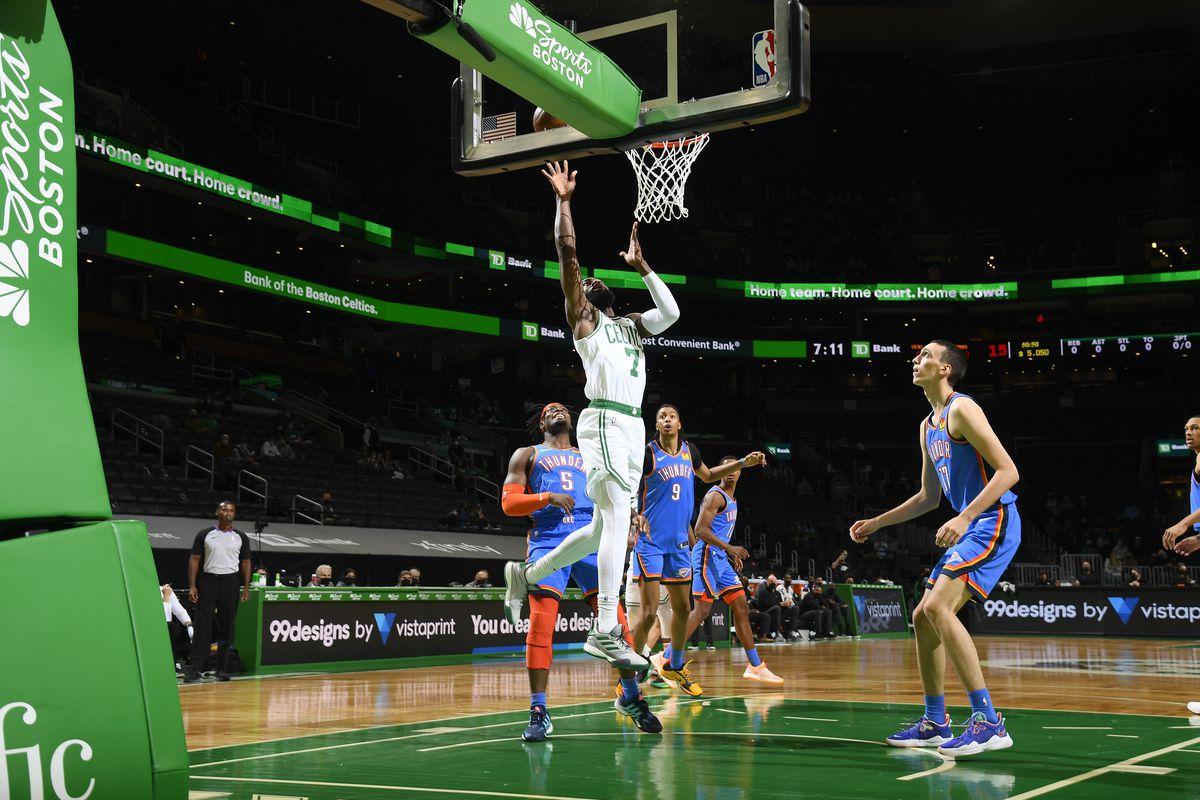 Oklahoma City Thunder v Boston Celtics