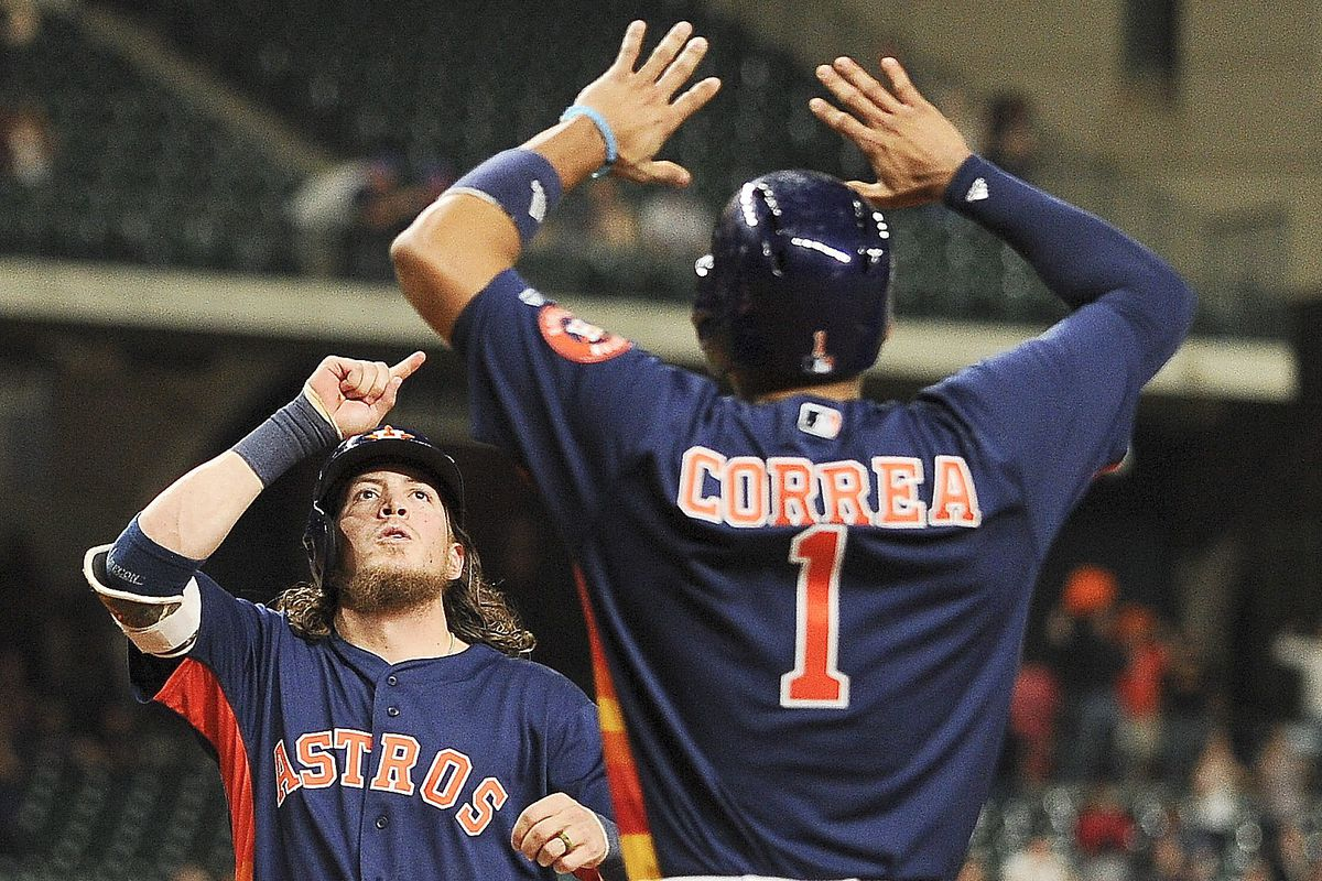 Colby Rasmus belted his seventh home run of the season to tie the game in the ninth inning.