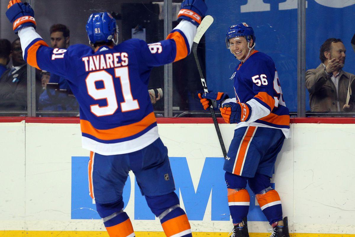 NHL: Minnesota Wild at New York Islanders