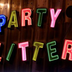 Party Glitters, Debevoise Street between Broadway and Graham Avenue