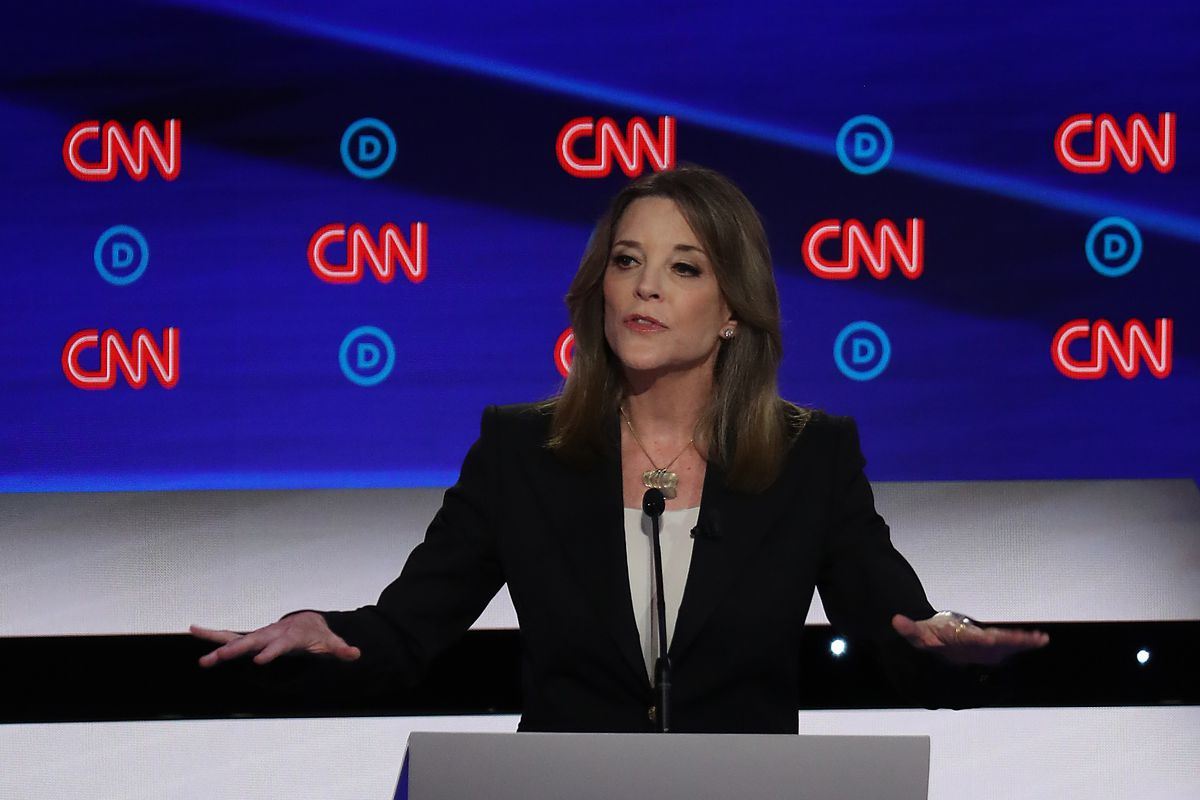 Marianne Williamson debate: her rise is scary, not funny - Vox