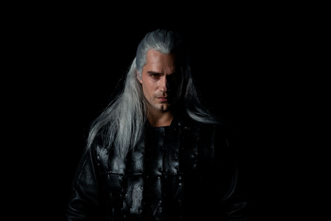 here s henry cavill as geralt in netflix s version of the witcher