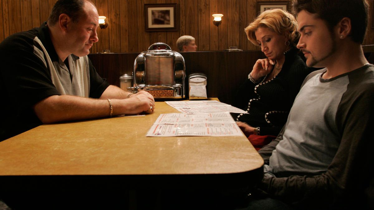 The final episode of The Sopranos is one of the best finales ever.