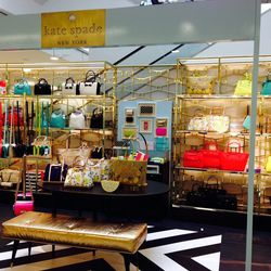 Fans of Kate Spade will be happy. This store within a store has the distinction of being the second-largest Kate Spade shop inside of a retailer.