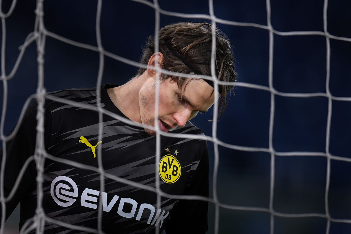 Marwin Hitz of Dortmund during the Champions League Group...