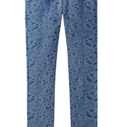 """<a href=""""http://www.lagarconne.com/store/item.htm?itemid=18623&sid=1341&pid=1238"""">Paros Printed Jeans</a>, $130 (were $260)"""