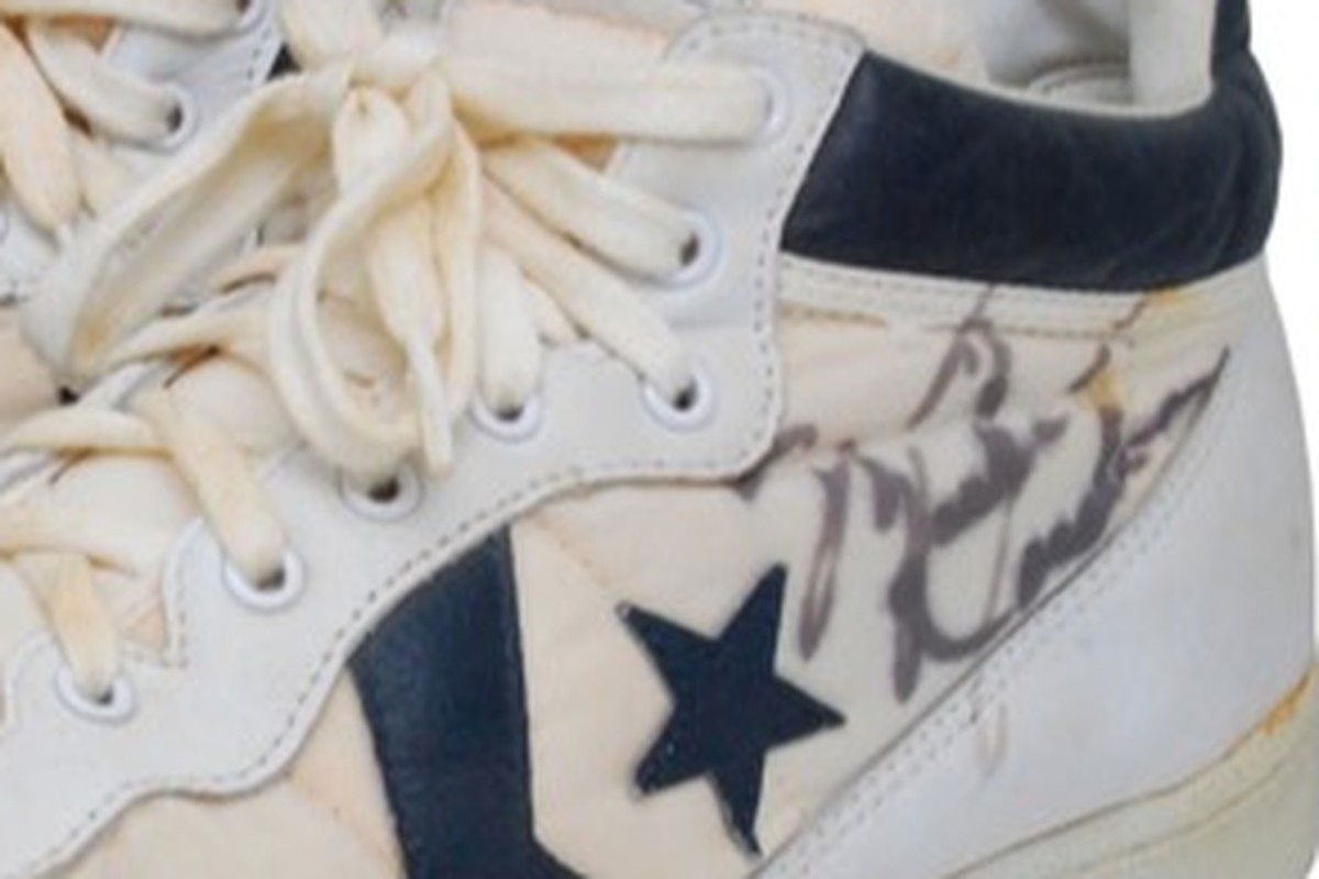 Michael Jordan 1984 Olympic shoes up for auction - Chicago - Chicago