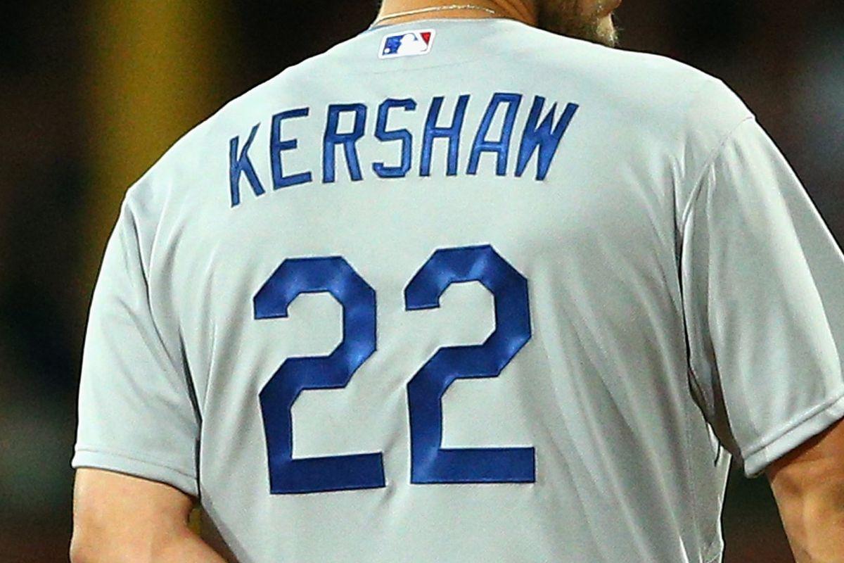Clayton Kershaw jerseys 3rd-most popular in MLB - True Blue LA 0ffa54d049c