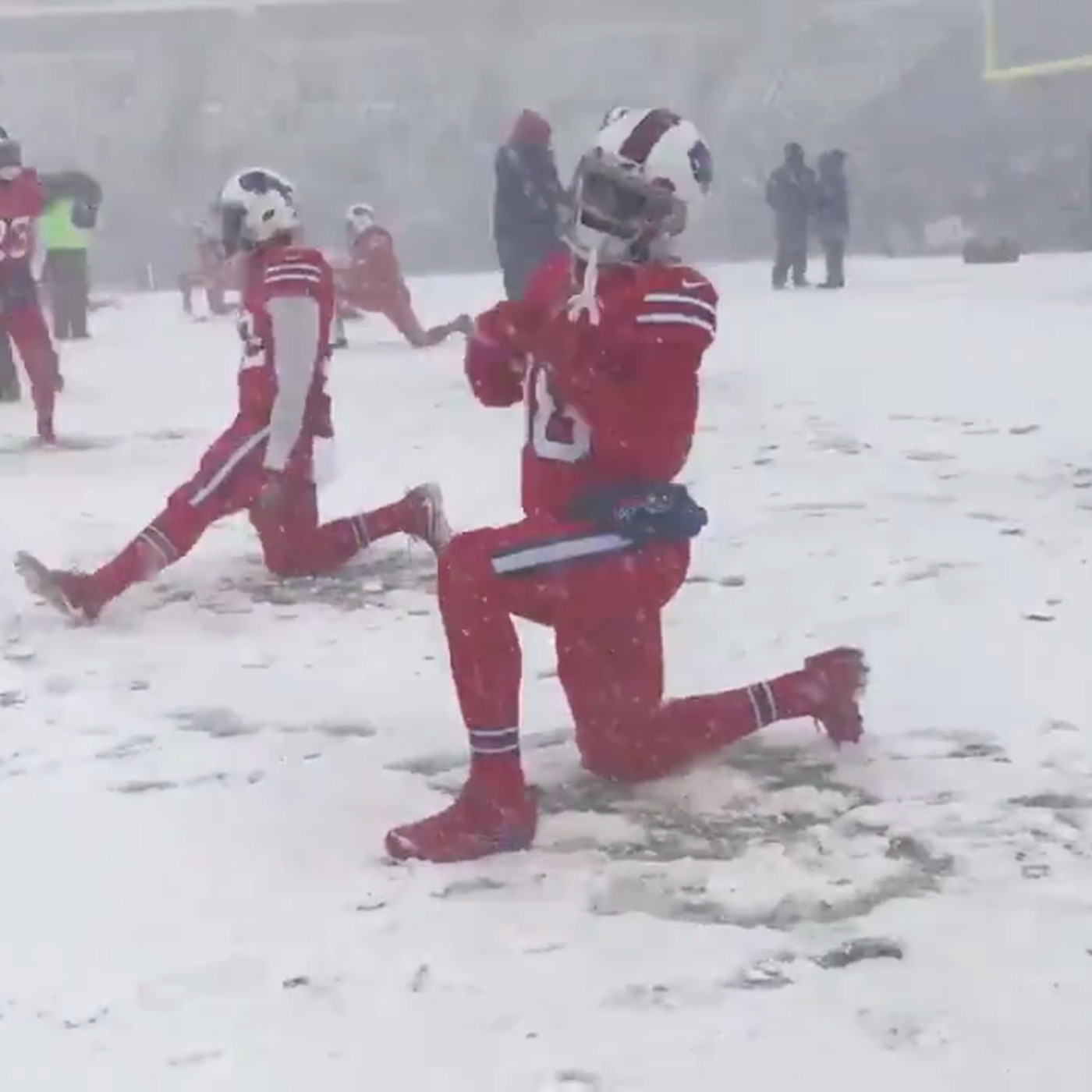 Bills Vs Colts Buffalo Wins In Overtime On A Snow Filled Field Sbnation Com