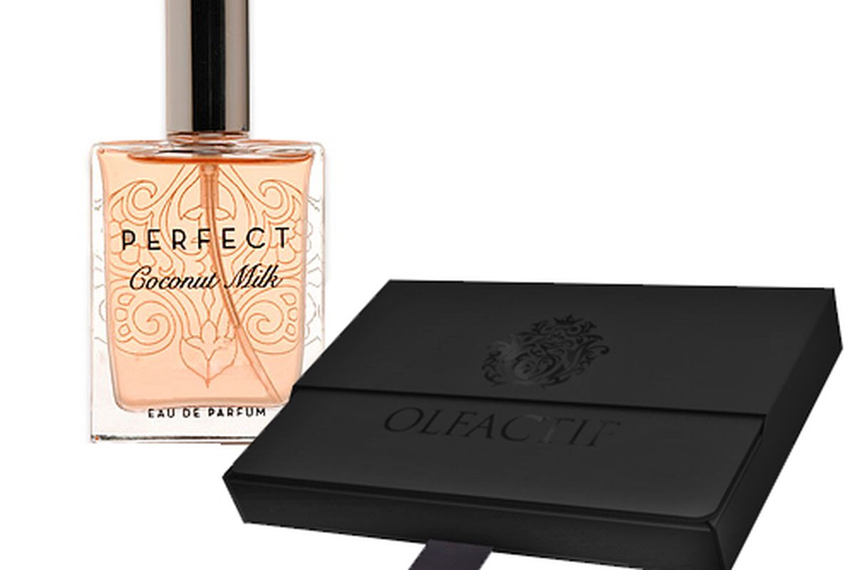 """Perfect Coconut Milk by Sarah Horowitz, <a href=""""http://www.olfactif.com/collections/perfumes/products/perfect-coconut-milk"""">$75</a>"""