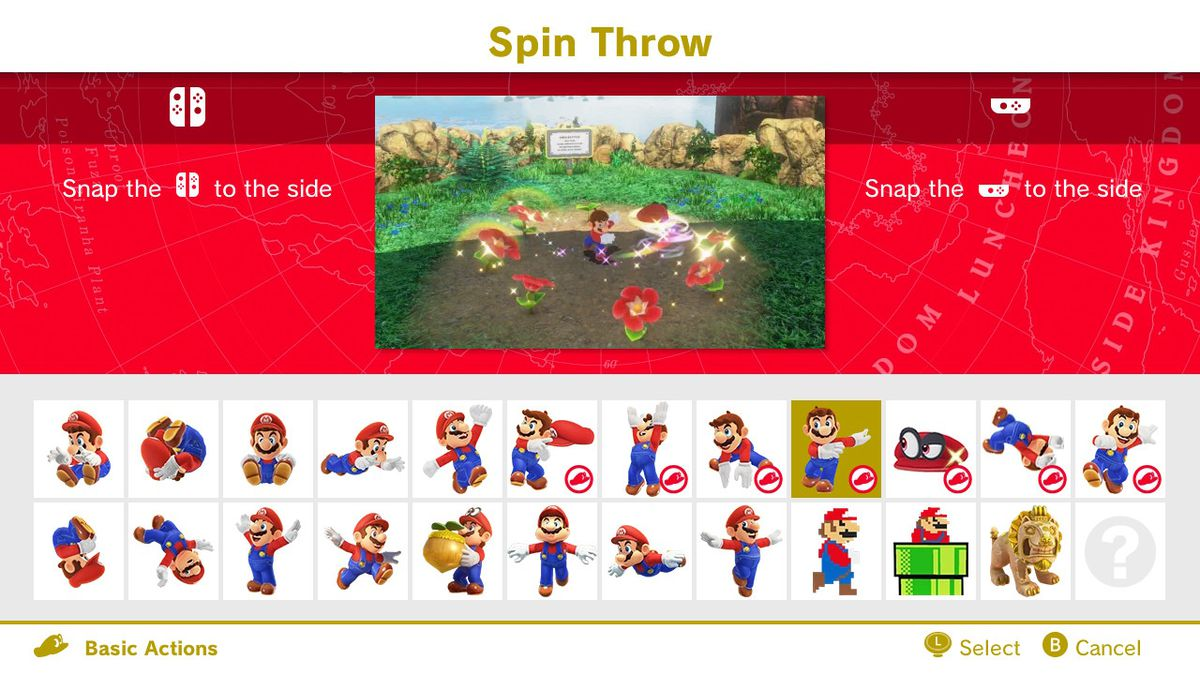 spin throw