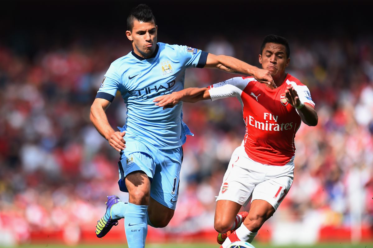 Will Sergio Aguero and Alexis Sanchez be fit enough to battle it out for Monday's big game?