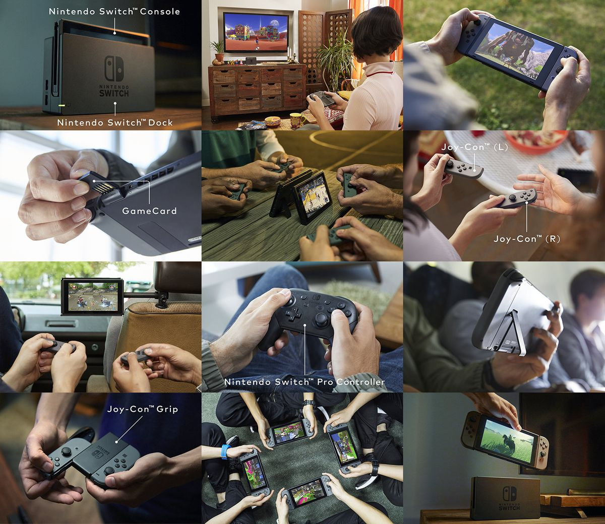 Nintendo Switch collage