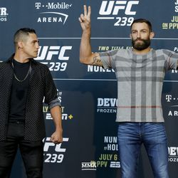 Diego Sanchez and Michael Chiesa
