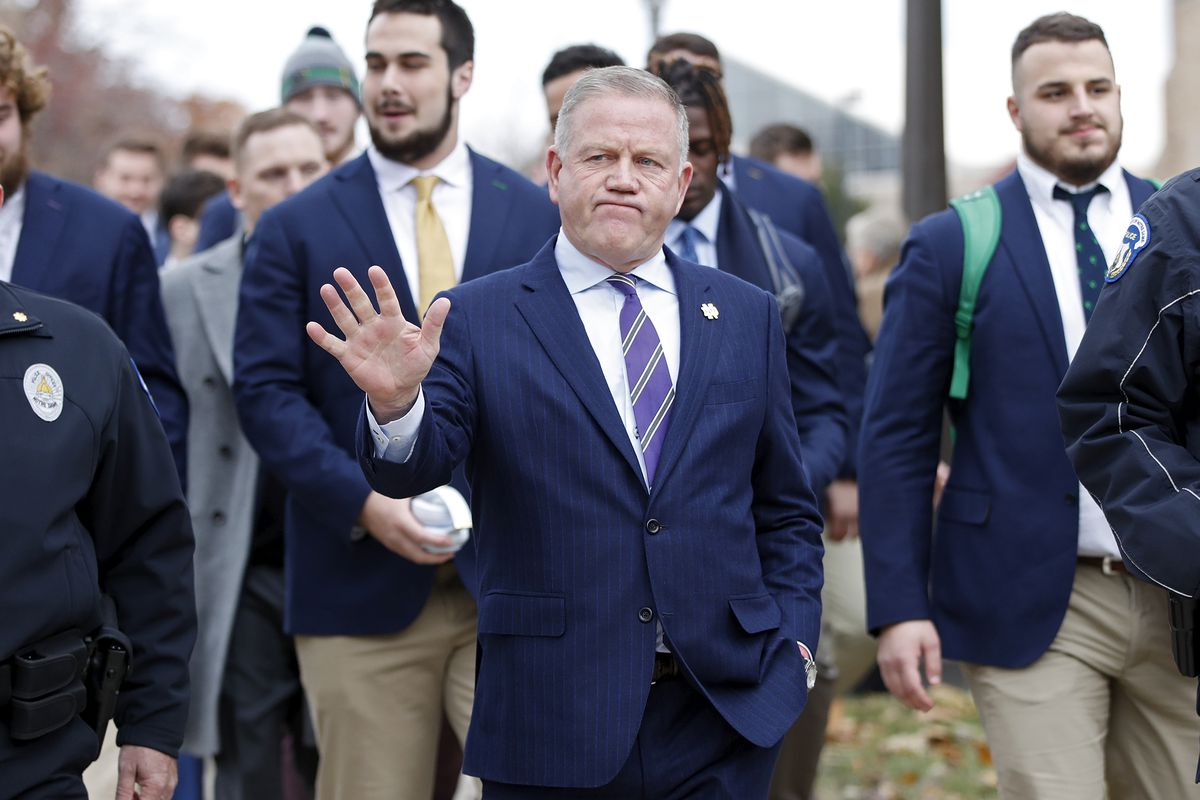 Brian Kelly isn't leaving Notre Dame for Florida State or anywhere