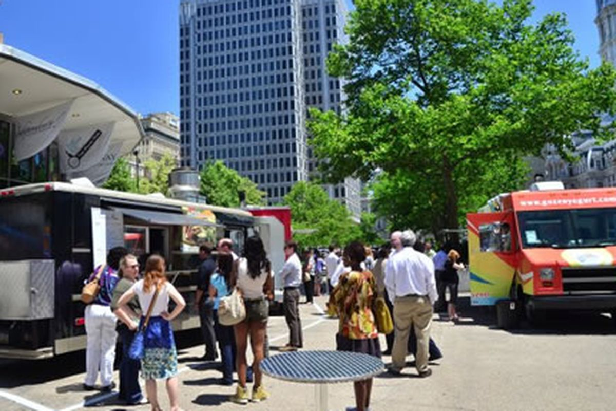 The food truck boom continues in LOVE Park.