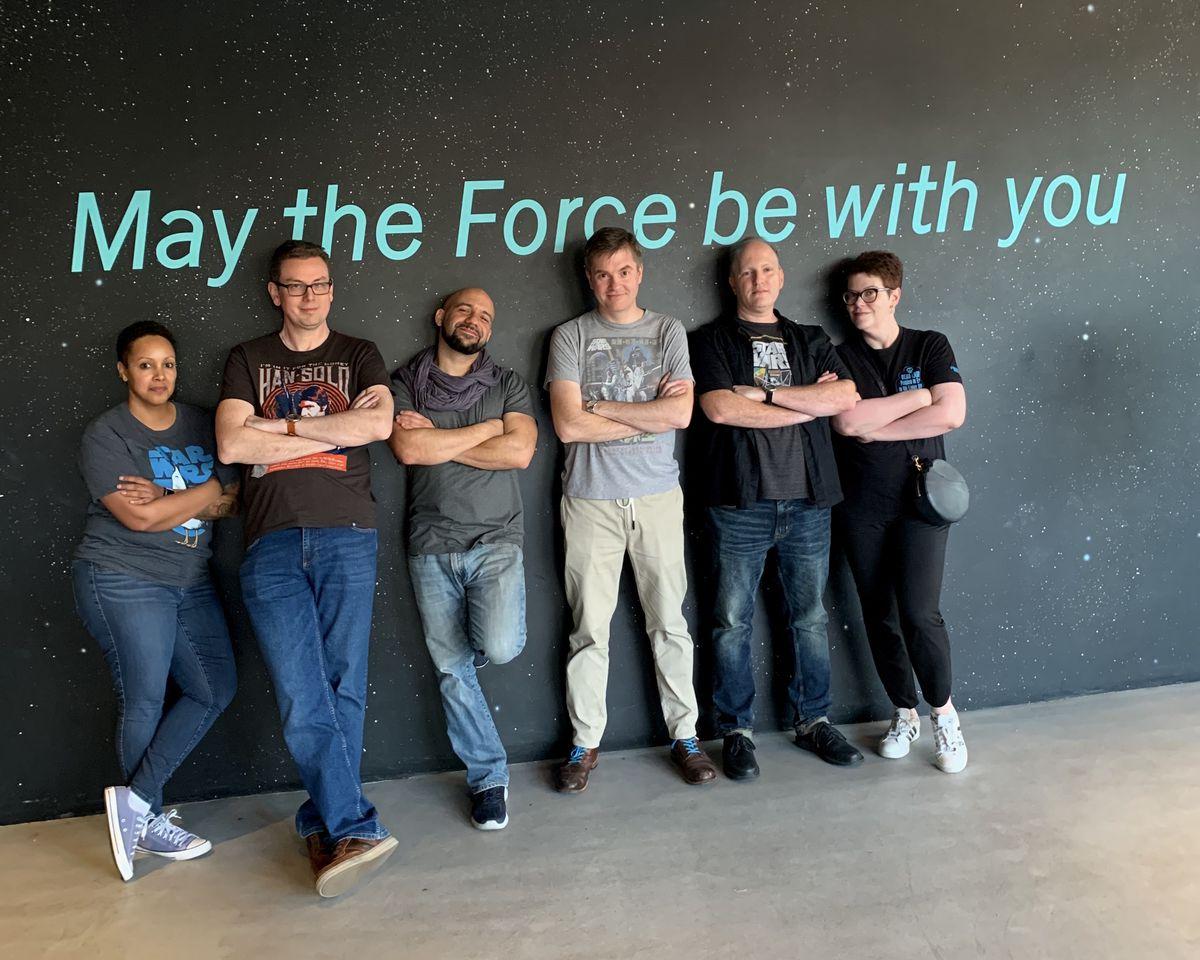 The Star Wars High Republic story team of Justina Ireland, Cavan Scott, Daniel José Older, Charles Soule, Mike Siglain, and Claudia Gray