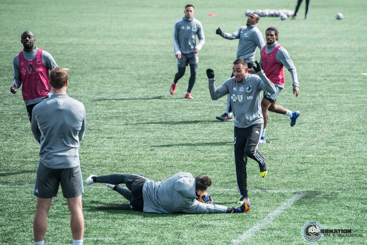 MNUFC Training