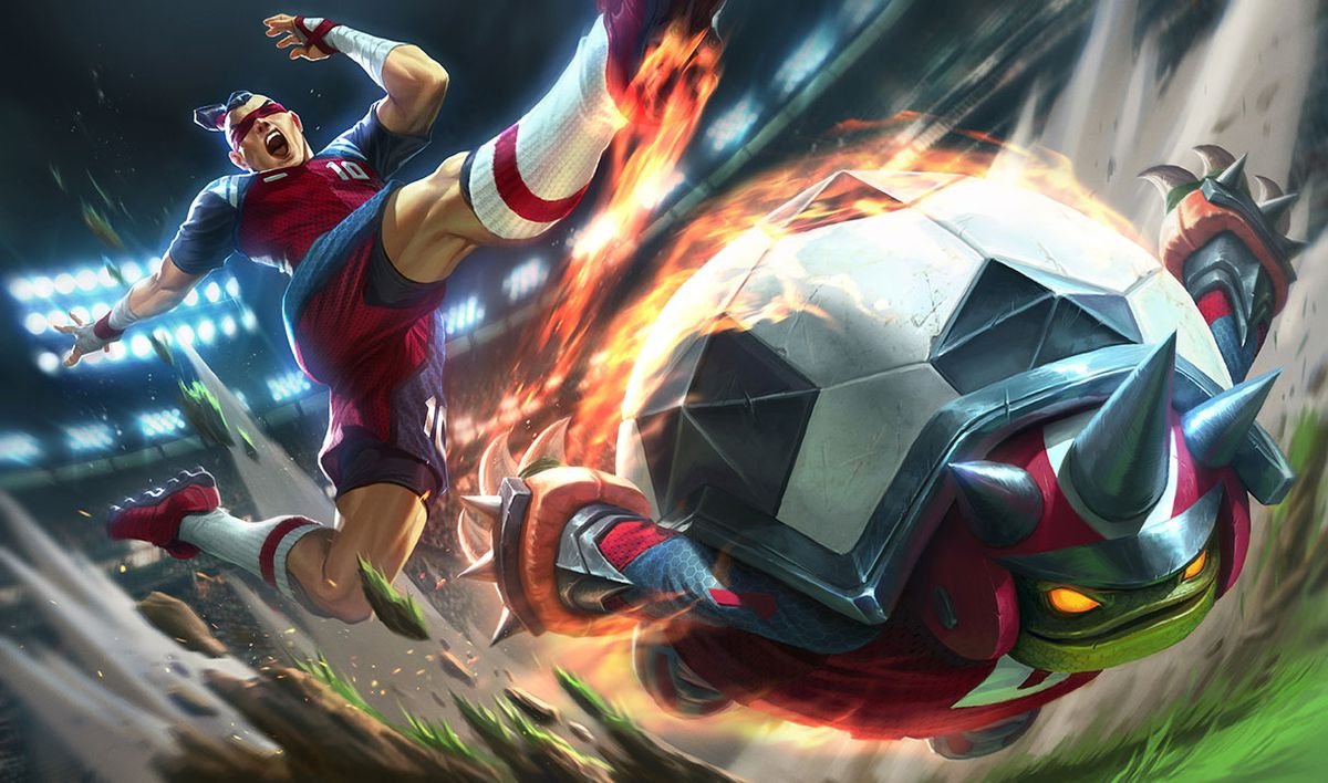 World Cup 2018 Skins Playmaker Lee Sin And Sweeper Rammus Join