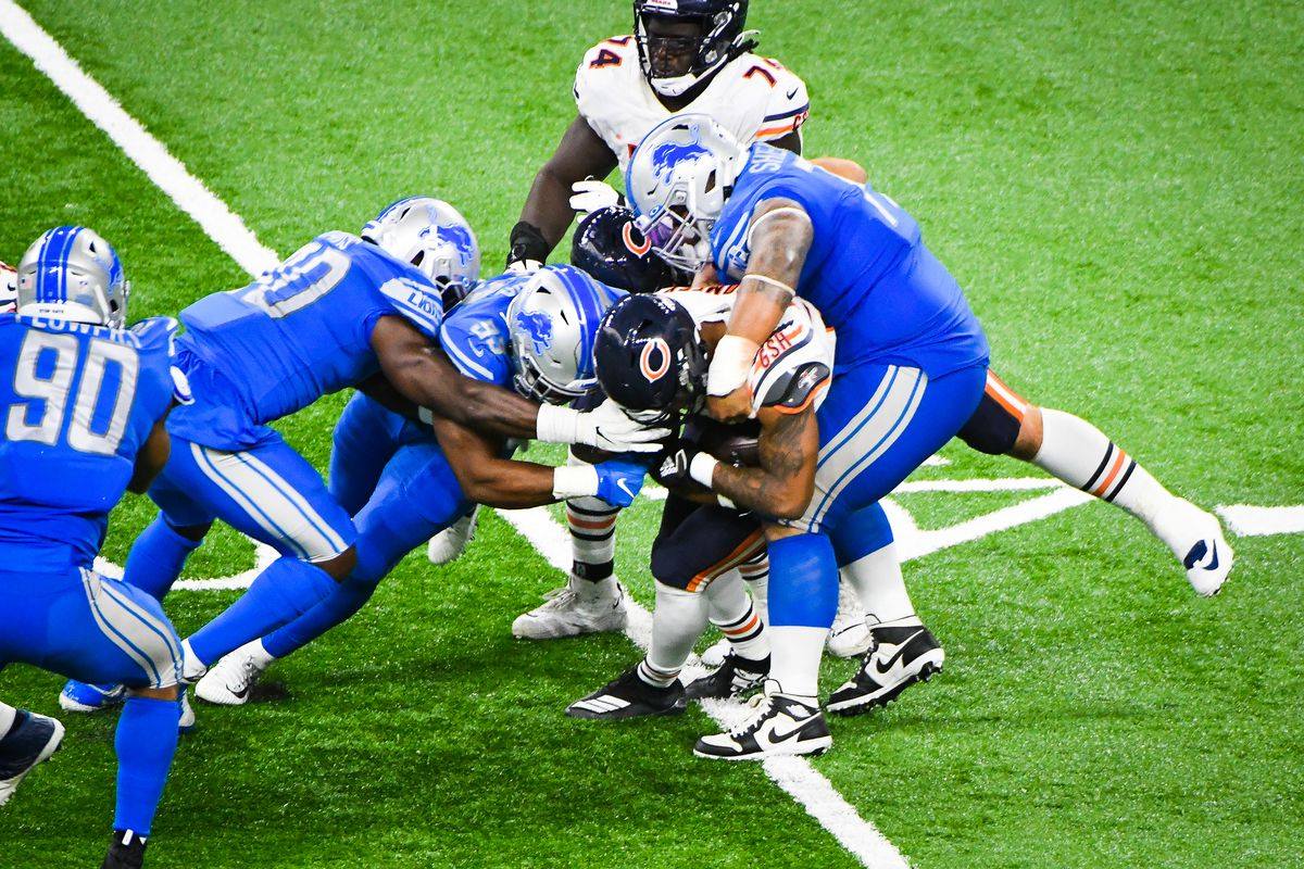 NFL: SEP 13 Bears at Lions