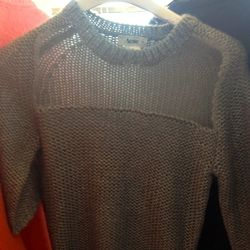 sweater, $100