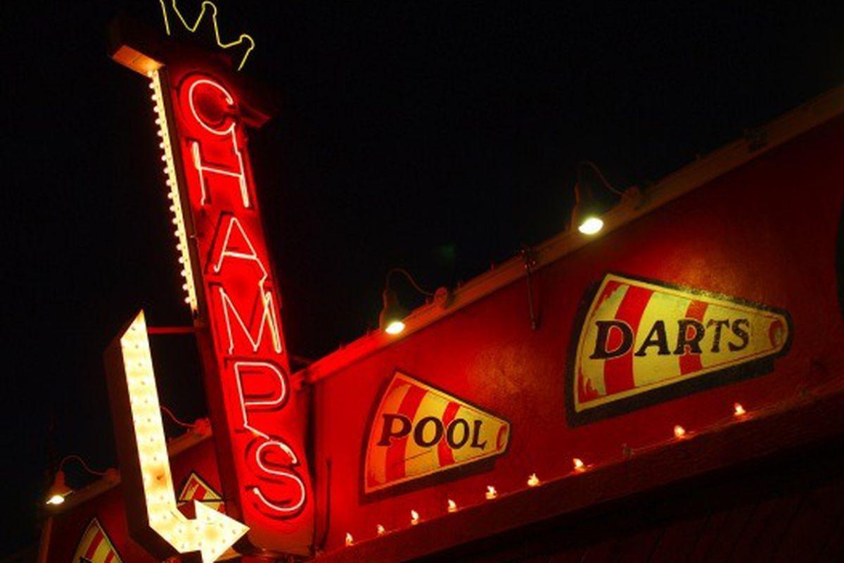 Champs Sports Pub, Burbank.