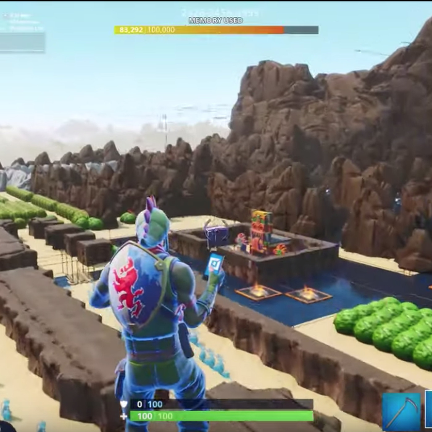 Image result for Here's The Legend of Zelda remade in Fortnite Creative