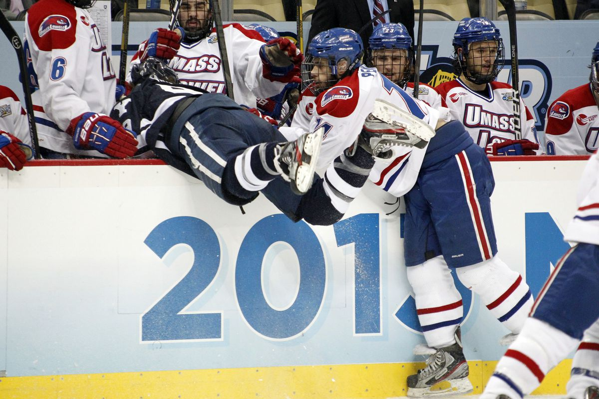 UMass-Lowell looks to get on track this weekend against Michigan State and Michigan.