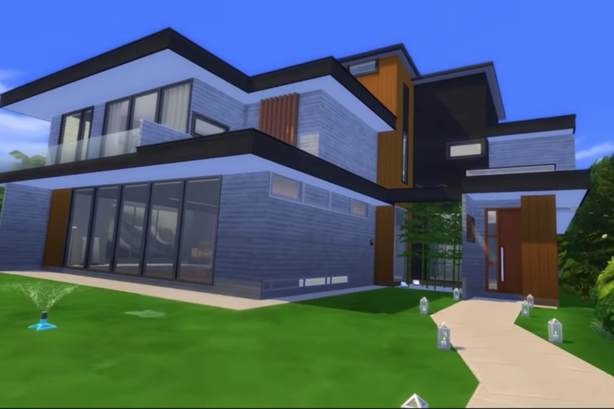 Parasite House Recreated In The Sims 4 Curbed