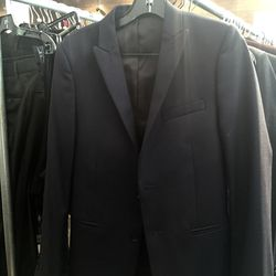 Men's suit jacket, size 44, $195 (from $670)