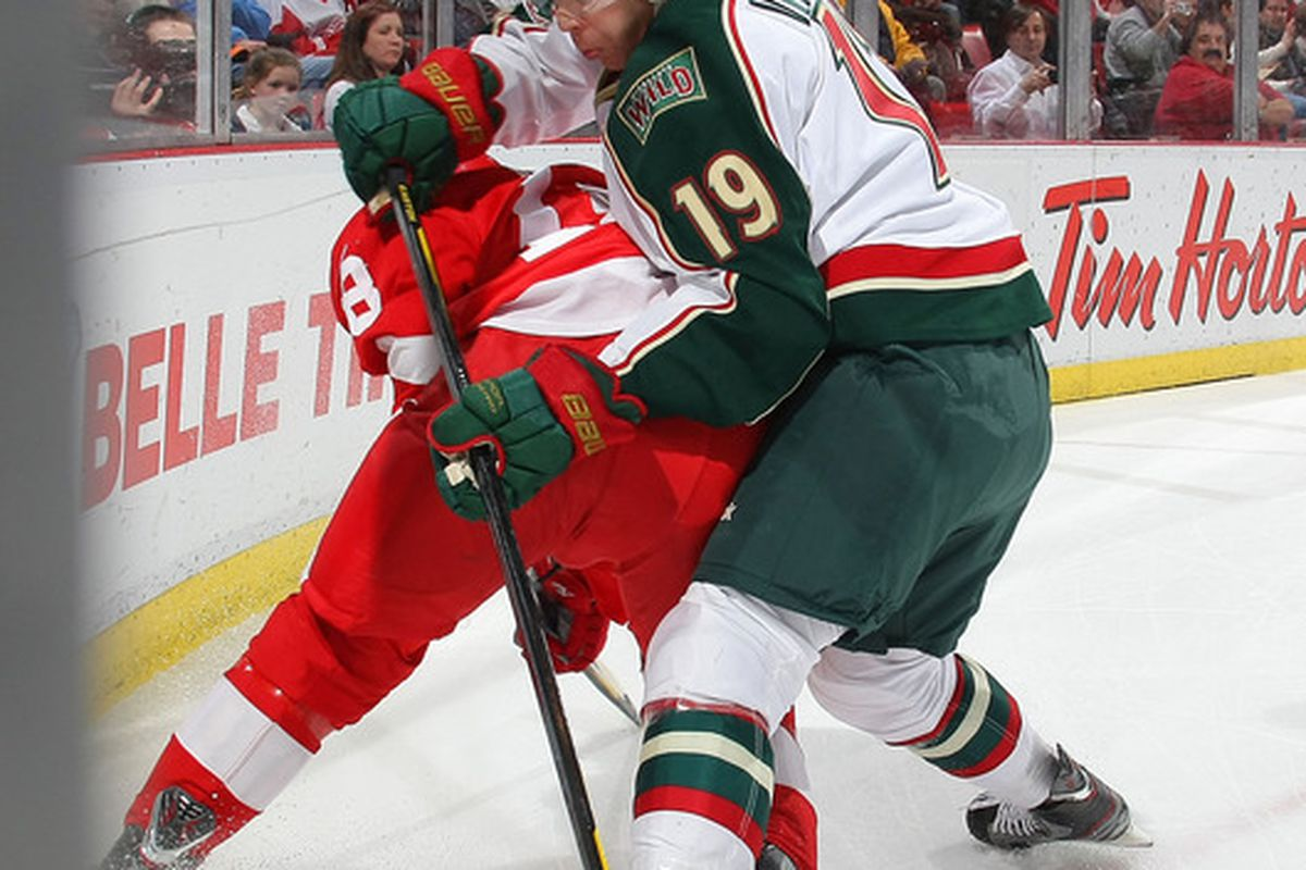 This man used to play for the Wild. Now he does again.