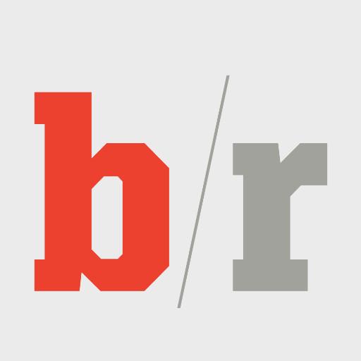 B/R logo