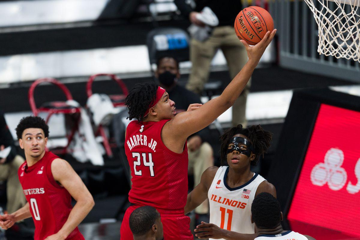 COLLEGE BASKETBALL: MAR 12 Big Ten Tournament - Rutgers v Illinois