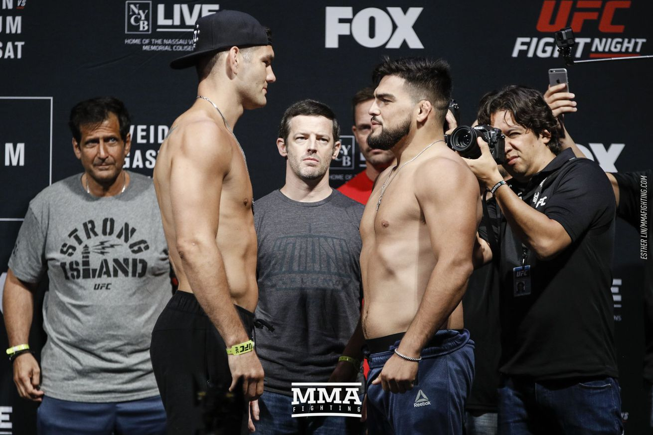 community news, UFC on FOX 25 Results: Weidman vs. Gastelum