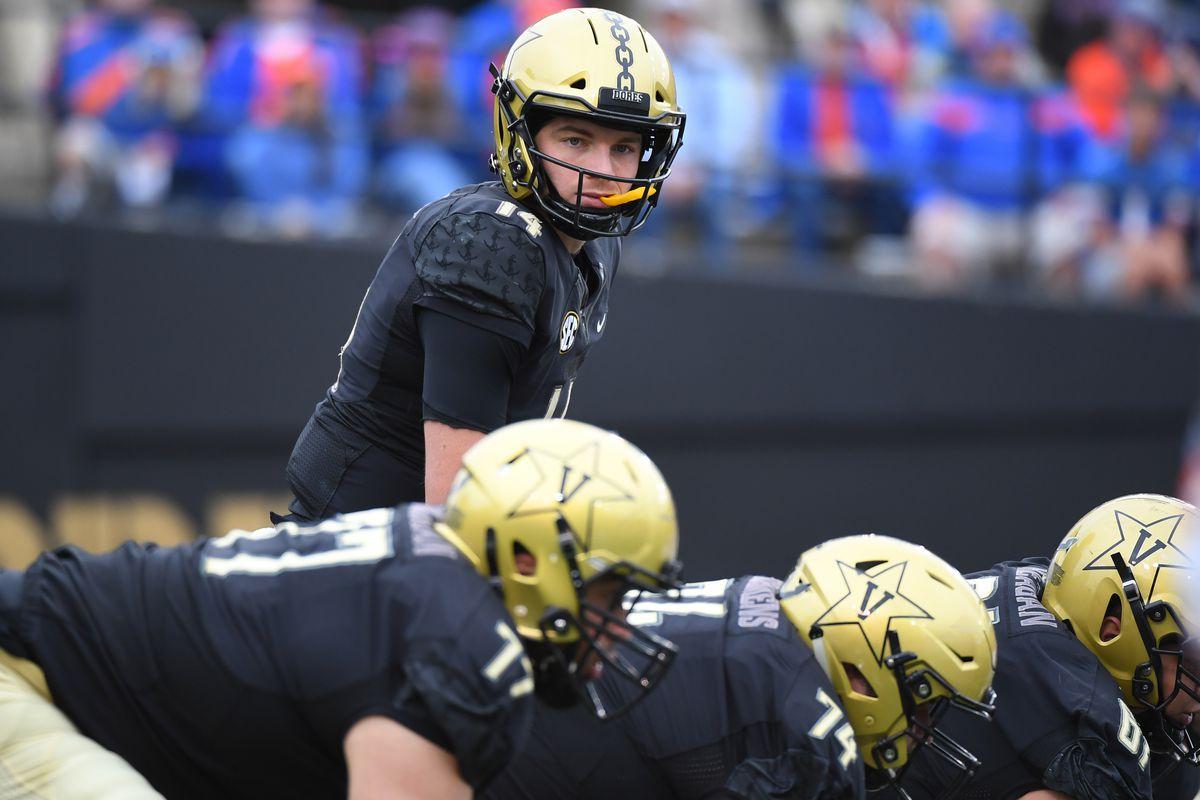 NCAA Football: Florida at Vanderbilt