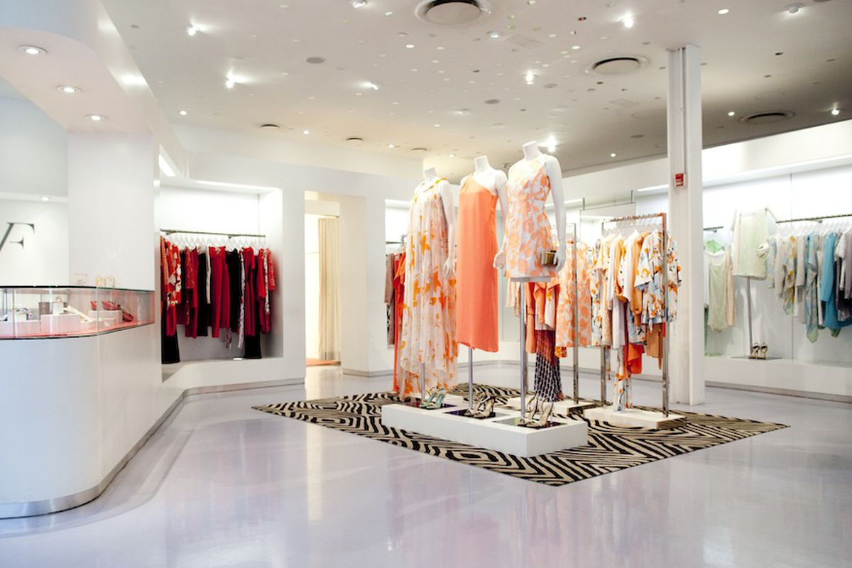 The DVF store in Meatpacking. Photo by Brian Harkin