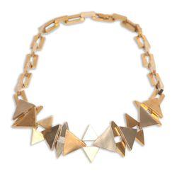 <b>Samma</b> Triangle Necklace, $368 (originally $736)
