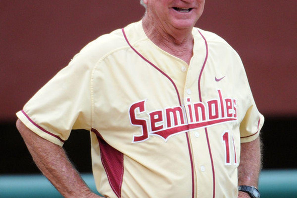 Florida State Seminoles head coach Mike Martin (Mandatory Credit: Melina Vastola-US PRESSWIRE)
