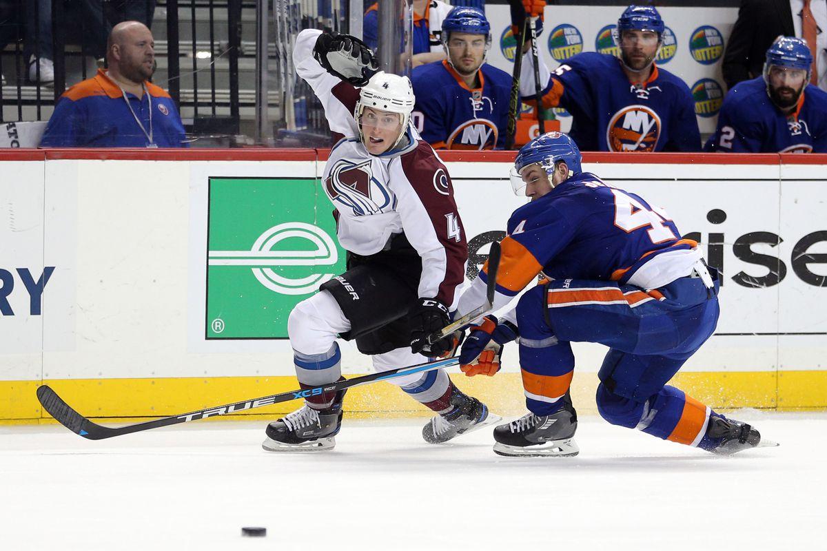 NHL: Colorado Avalanche at New York Islanders