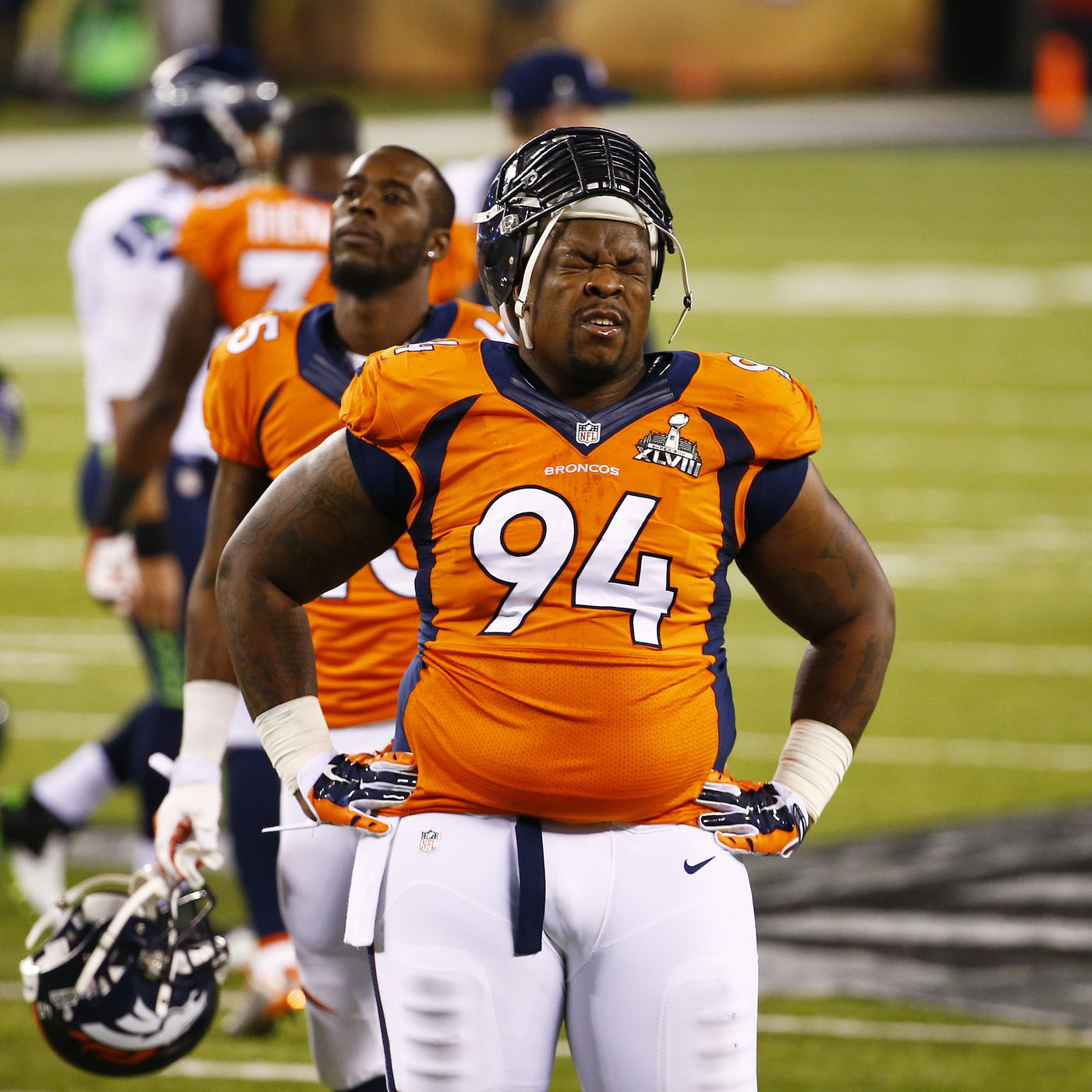 Terrance Knighton contract: Broncos DT thinks he's outplayed his ...