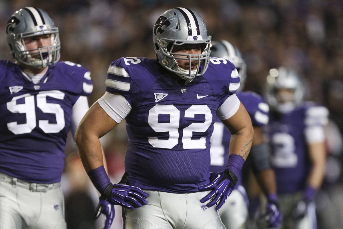 Matt Seiwert isn't anywhere near Vai Lutui's level yet at defensive tackle, but he has the potential to get there this season or next if he keeps working hard.