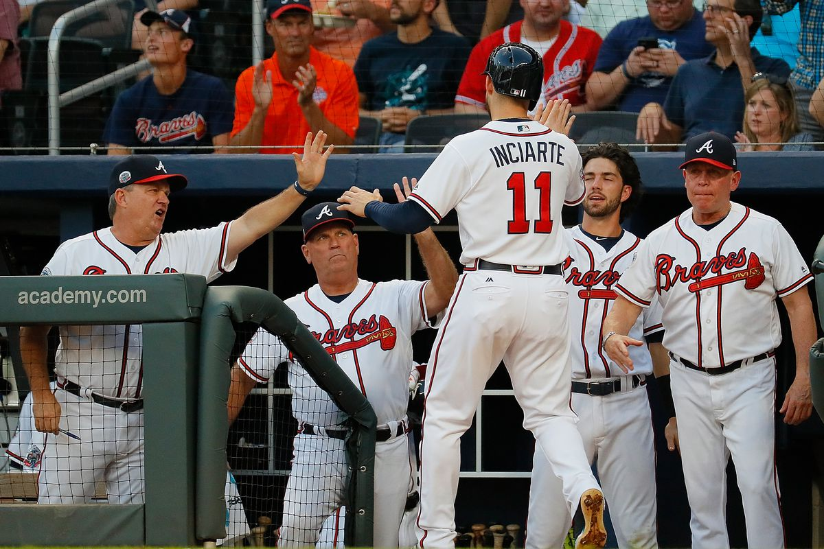 size 40 28466 3d313 2018 Atlanta Braves player projections: position players ...