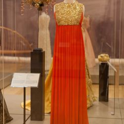 Princess Grace wore this dress, designed by Marc Bohan (best known for his work as artistic director at Christian Dior, to a costume ball at the Monte Carlo Casino on March 17, 1969. [Image credit: Natalie Wi]