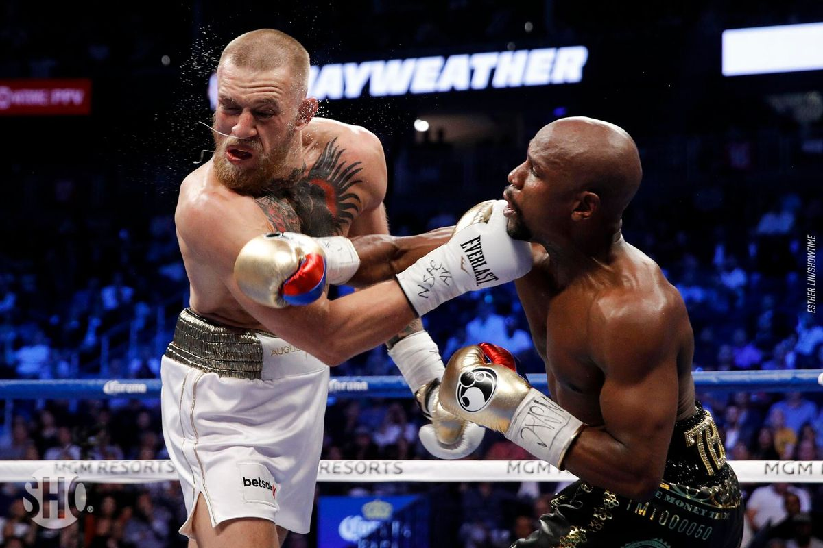 Mayweather Vs Mcgregor Kampf