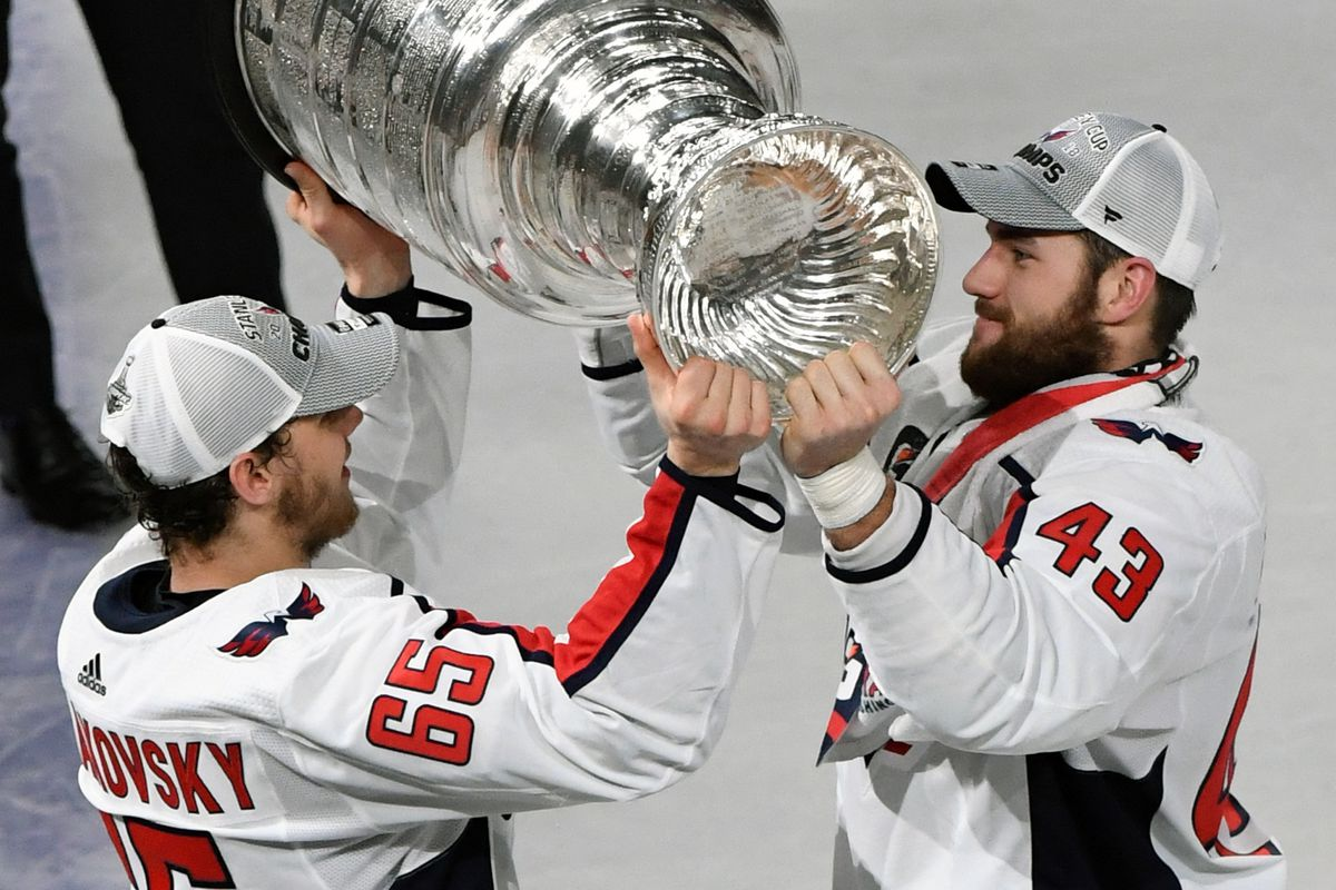 1fc69e2a0140e4 Photo by Ethan Miller/Getty Images. The Washington Capitals' 2018 Stanley  Cup Championship ...
