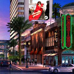 Rendering of the Downtown Grand's Fifth Street entrance.