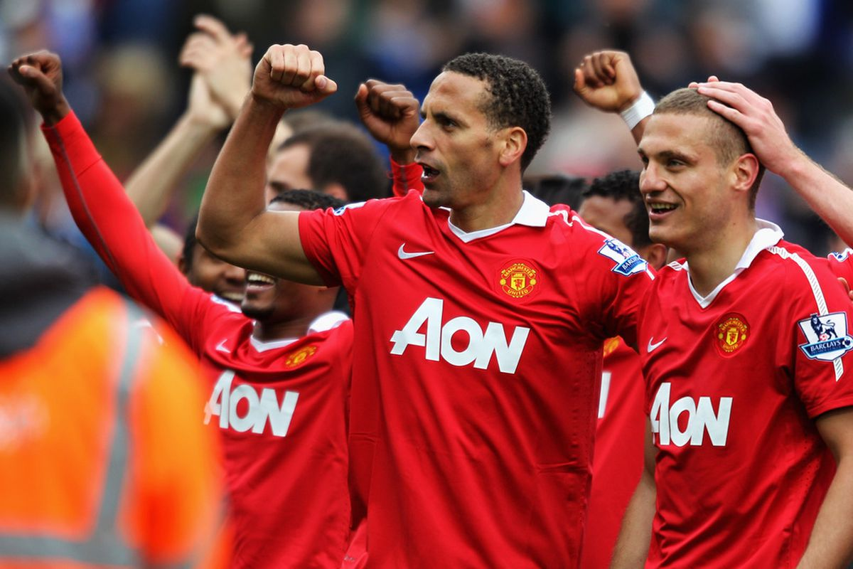 Rio Ferdinand and Nemanja Vidic are arguably the top center-back tandem in the world