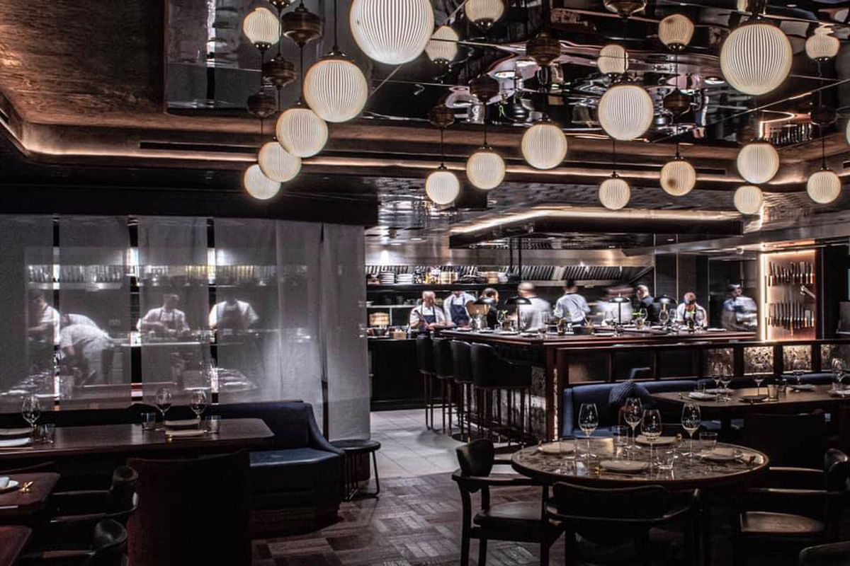 An Asian-influenced restaurant in London