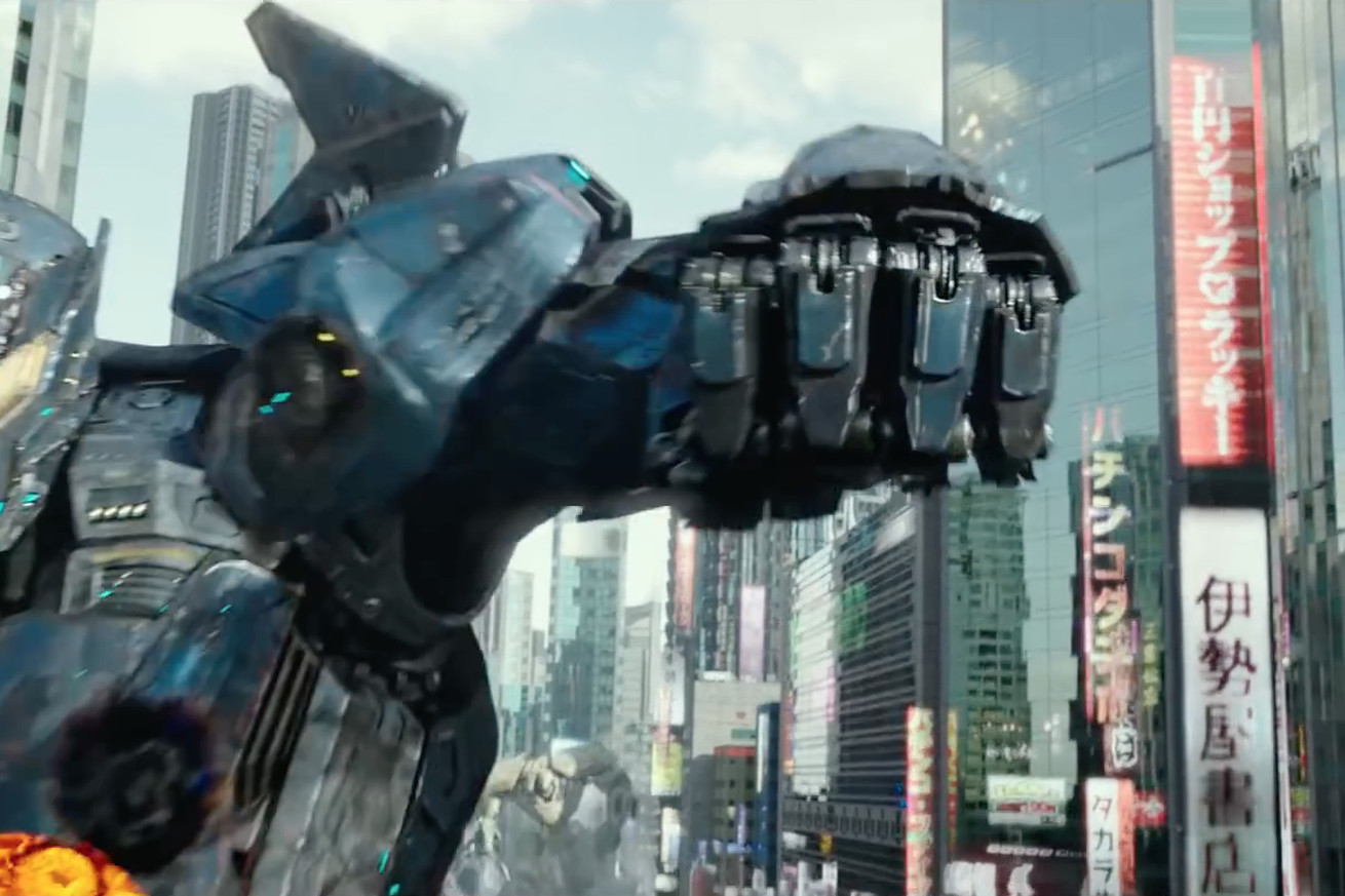 the latest trailer for pacific rim uprising is packed with giant mech vs giant monster action